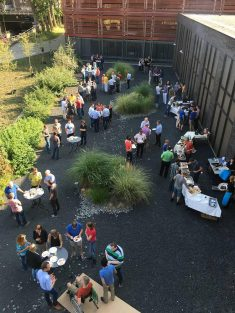Het hoofdkantoor van Technolution in Gouda op 26 augustus 2017