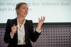 Gespreksleidster Silvie Spreeuwenberg